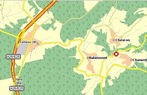 Route vanaf E19